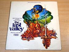 EX-/EX- !! John Barry/The Last Valley/1971 Probe Soundtrack LP
