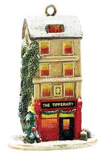 Lilliput Lane Christmas Tipple 2016 Hanging Cottage Ornament 7.5cm L3789 UK Made