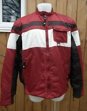 Energie Jean' session Worn out & d-stressed Red Vintage Jacket 2XL (XXLarge)