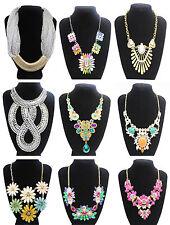 Markenlose Modeschmuck-Halsketten & -Anhänger aus Kristall und Metall-Legierung