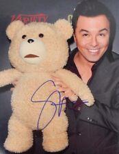 """TED"" Seth MacFarlane Hand Signed 8X10 W/ Todd Mueller COA"