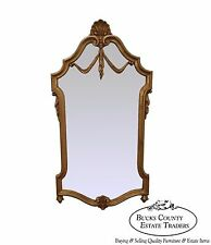 LaBarge Italian Gilt Wood French Louis XV Style Wall Mirror