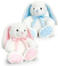 BNWT Gorgeous Keel  super soft bunny rabbit  bear soft toy 10 inches Great gift