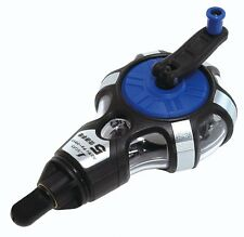 SHINWA Handy Chalk Line 5 x Speed Hand rewined Touch Liner Thick 20m 77560