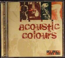 Acoustic Colours by artist Natural Fusion (Velvet Music 2007) rare import