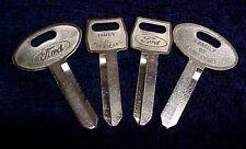 Ford Mustang NOS Door Ignition & Trunk Lock Keys 84 85 86 87 88 89 90 91 92 93