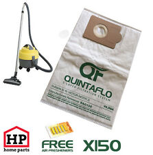 150 X Victor V9,D9,D9A QuintaFlo Vacuum Hoover Dust Bags,Best Quality-Not Paper!