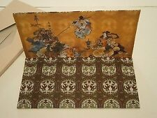 Vintage Rice Paper Wallet Made in Japan Beautiful Print New etui cover note case