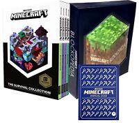 Minecraft Collection 6 Books Set Pack Blockopedia, Minecraft Annual Book 2019