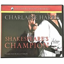 Shakespeare's Champion Charlaine Harris 2009 6 CD 7.5 Hrs 2nd Lily Bard Series