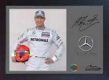 Michael Schumacher Mercedes Benz signed autograph Sport Memorabilia Formula1