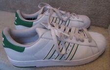 Adidas Original Superstar Lite SAMPLE Sz9 Sneakers White Green Accents G48322