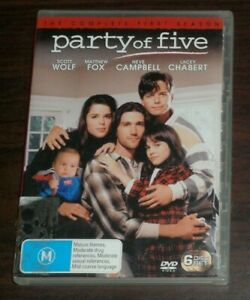 DVD. Party of Five. The Complete First Season. M. Region 4.