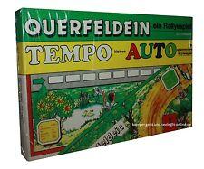 QUERFELDEIN-Ein Ralleyspiel-Tempo kleines Auto-Würfelspiel-DDR-neu-OVP-Rarität
