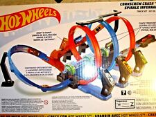 Mattel Hot Wheels Corkscrew Crash Track Set New! Sealed!