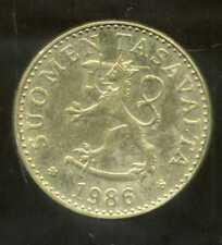FINLANDE 20 pennia 1986