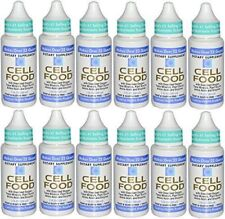 Original Cellfood - 1 fl oz each - 12 Bottles - Newest Expiration!