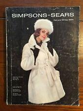 1963 Simpsons Sears Fall & Winter Catalogue