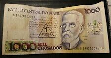 BRAZILIAN 1000 CRUZADOS BANK-NOTE