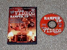 WWE The Videos Vol. 1 Ramped Up DVD 2002