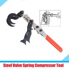 2 Hooks Valve Spring Compressor Hand Tool For Car Valve Stem Oil Seals Replace