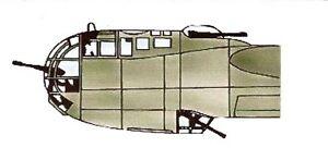 Squadron Dornier DO 217K Crystal Clear Canopy SQ9171