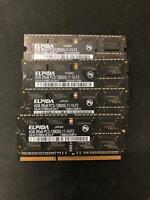 16GB 4x 4GB DDR3 PC3-10600 SODIMM 1333 MHz Laptop RAM Memory Dell Apple HP