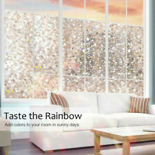 Window Film Sticker Static Decorative Privacy Frosted Stained Glass Home Decor