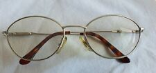 Vintage Gucci GG2615 Optical Round Metal Frames.