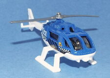 Matchbox Die Cast Rescue Helicopter marked Police