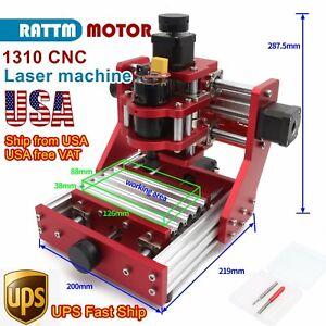 〖In USA〗1310 Mini Desktop Engraving Full Metal CNC Router Cutter Milling Machine