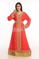 Marroquí Elegante Jilbāb Jalabiya Boda Vestido Takshita Vestido para Mujer 135