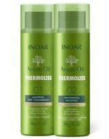 Inoar Thermoliss Hair Straightener -Formaldehyde Free Keratin Treatment 2 Bottle
