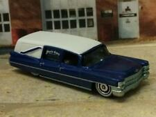 The Undertaker 1963 Cadillac Hearse Fleetwood Coach 1/64 Scale Limited Edit I3