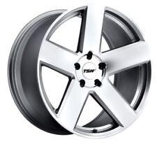 18x8.5/9.5 TSW Bristol 5x112 +32/35 Silver Wheels (Set of 4)