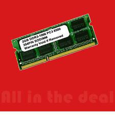 2GB SODIMM DDR3 Laptop PC3 8500 1066MHz 1066 204 pins Ram Memory