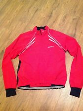 Craft Red Cycling Wind Jacket
