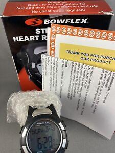 Authentic Bowflex Strapless Heart Rate Monitor EZ Pro, Black Open Box