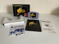 Nintendo 64 - The Legend Of Zelda Ocarina Of Time Boxed - SEE DESC