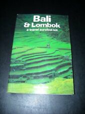 Bali and Lombok: A Travel Survival Kit (Lonely Planet Travel S ,.9780864420411