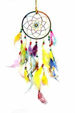Multicolored Dream Catcher Wall Hanging - Attract Positive Dreams Set Of 2