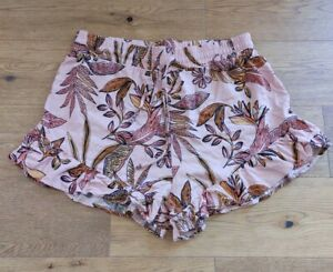 Wild Fable Floral Ruffle Shorts Size L Read Description