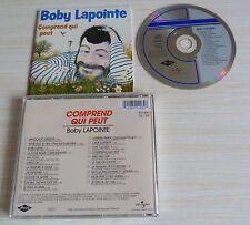 RARE CD ALBUM BEST OF COMPREND QUI PEUT BOBY LAPOINTE 21 TITRES LA COMPIL
