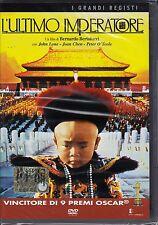 Dvd + Libro **L'ULTIMO IMPERATORE** di Bernardo Bertolucci nuovo 1987