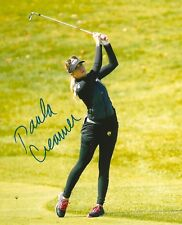 PAULA CREAMER signed LPGA 8x10 photo with COA D