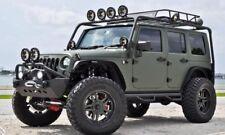 07-17 Jeep Wrangler JK 4 Doors Hoop Dropped Side Steps Running Boards Nerf Bars
