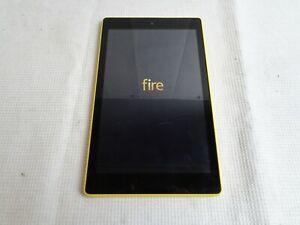 Amazon Kindle Fire HD 8 | SX034QT | Yellow | READ