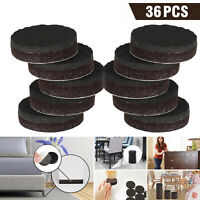 36pcs Non Slip Felt Pads For Furniture Floor Protectors Table Chair Feet Leg USA