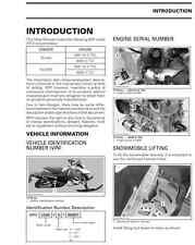 2013 Ski-Doo REV-XS & XM series 600 HO 800R snowmobile service manual in binder