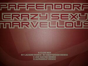 "(mk3) Paffendorf - Crazy Sexy Marvellous 2003 Promo 2x12"" DATA DATA51P1"